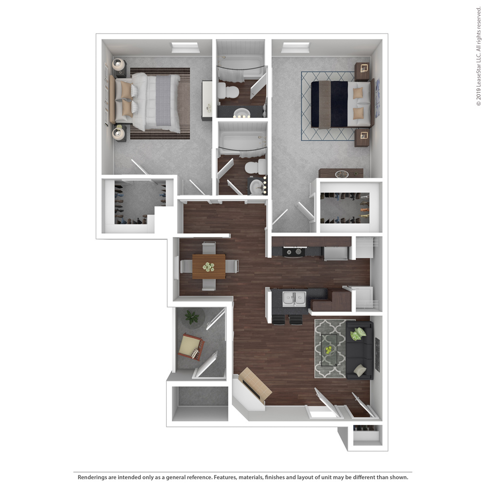 Mountain Brook Apartments: Oaks Of Eagle Creek I Floor